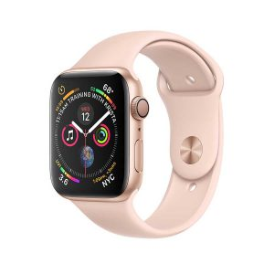 Apple Watch Series 4 GPS (Gold) Gold Aluminum Case with Pink Sand Sport Band