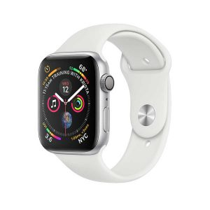 Apple Watch Series 4 GPS (Silver) Silver Aluminum Case with White Sport Band